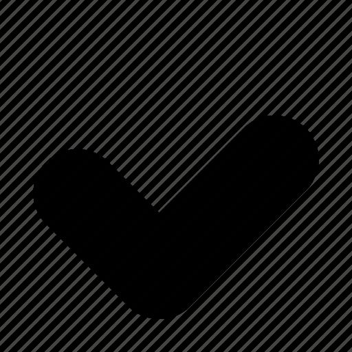 approve, checkmark, done icon