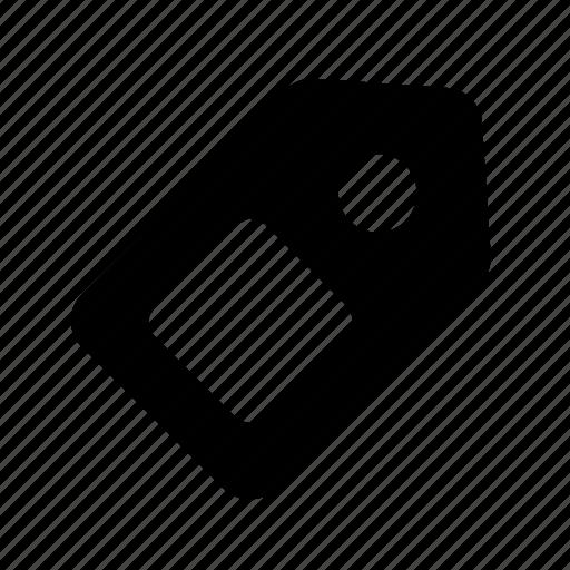 fee, label, price, tag icon