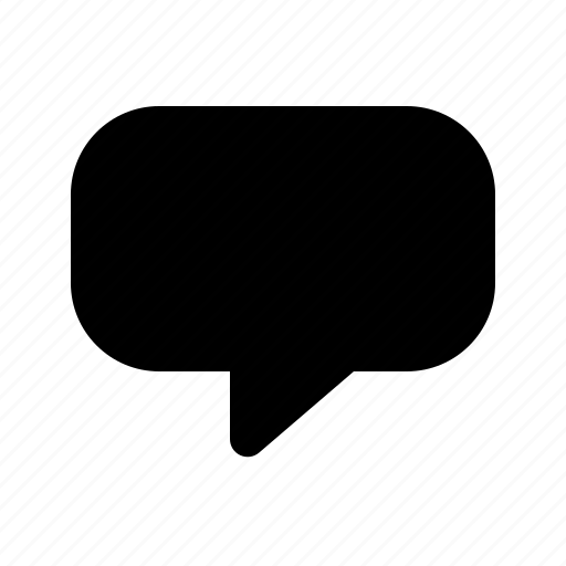 bubble, communication, message, speech icon