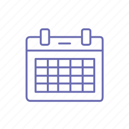 calendar, date, date picker, duration, time, when icon