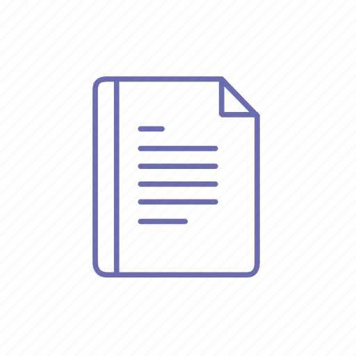 document, file, paper, paragraph, text, word icon