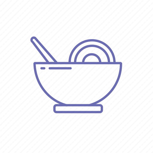 bowl, bowl of soup, chinese food, food icon