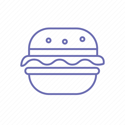 burger, diet, fastfood, food, gourmet, hamburger icon