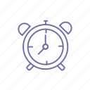 alarm, analog clock, deadline, mechanical clock, morning, time, time piece icon