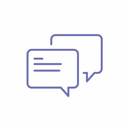 chat, chat app, discuss, feedback, message, testimonial icon