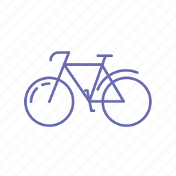 bicycle, bike, cycle, go green, sports bicycle, sports cycle, travel icon