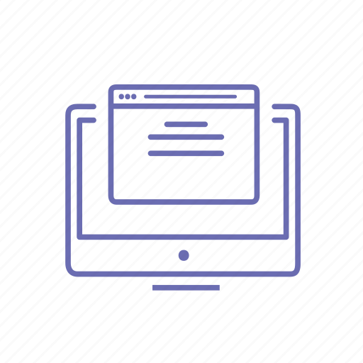 browser, computer, mac, website icon
