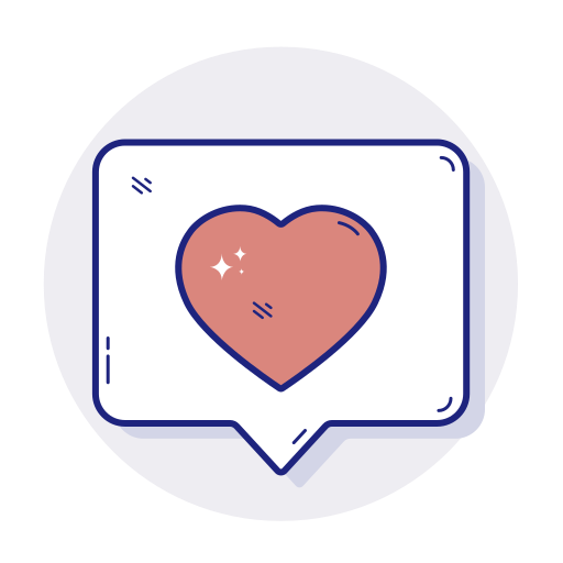 favorite, heart, like, love, valentines icon