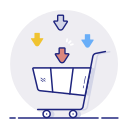 basket, buy, ecommerce, online, shopping icon