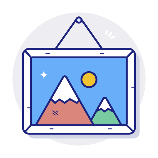 Frame, gallery, image, photo, picture icon - Free download