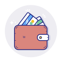 banking, cash, money, payment, wallet icon