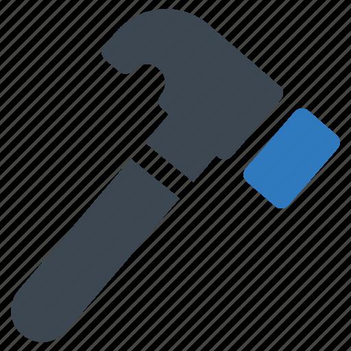 equipment, hammer, repair icon