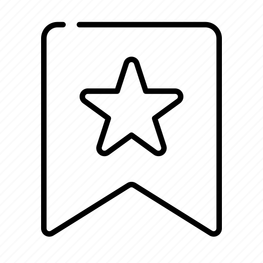 Favorite, bookmark, star icon - Download on Iconfinder