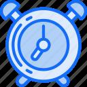 alarm, bell, clock, essentials, ring icon
