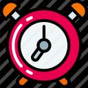 alarm, bell, clock, essentials, ring