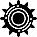 cog, essentials, industrial, options, settings icon