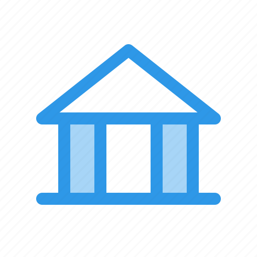 bank, gov, government icon