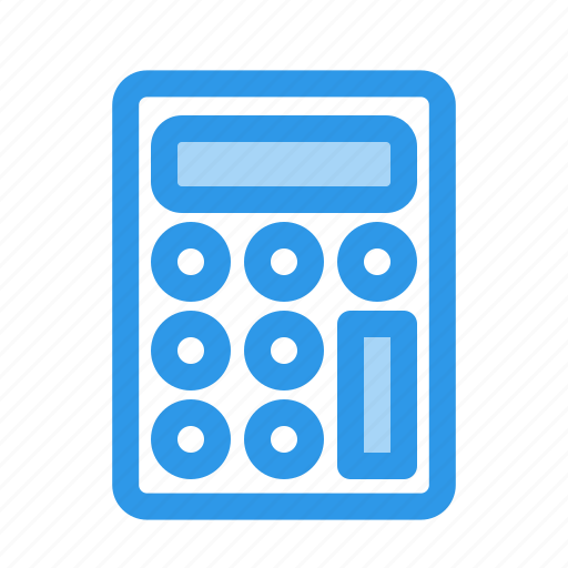 calculator, fee, sum, total icon
