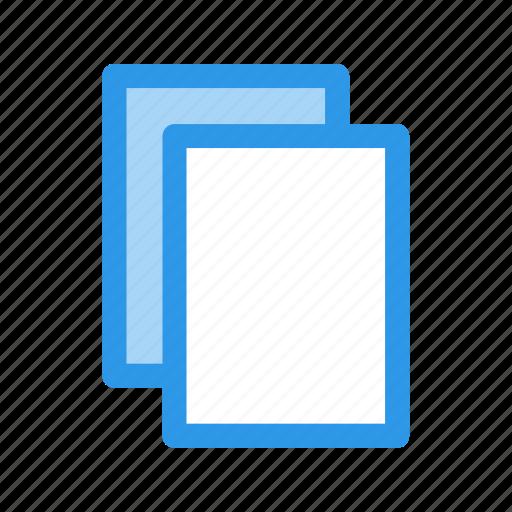 copy, layer, multitask, several icon