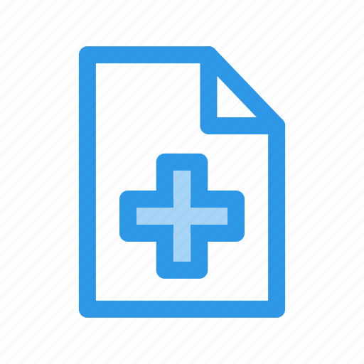 document, file, new, sheet icon