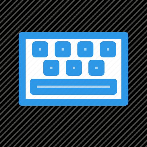keyboard, keys, space icon