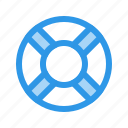 drown, help, life, ring, sos icon
