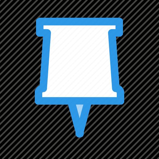 clip, head, pin icon