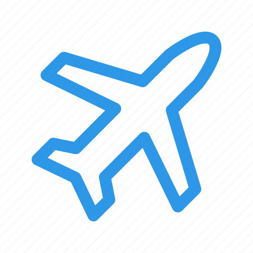 fly, plane, travel, vacation icon