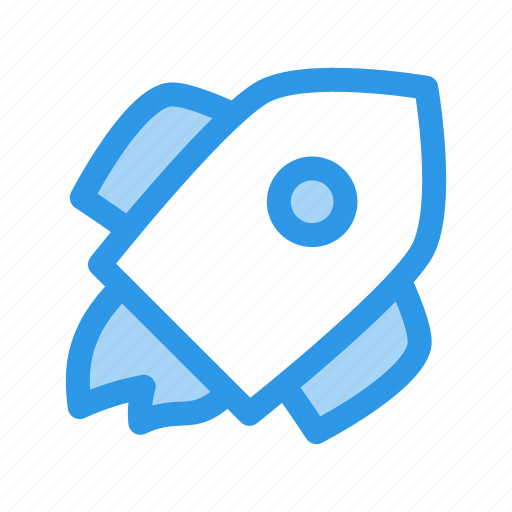 fast, invest, rocket, seed, space icon