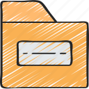 data, essentials, files, folder, storage icon