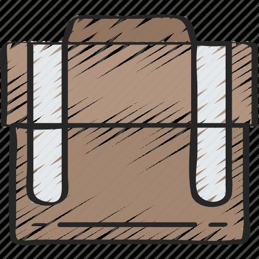 breifcase, business, case, essentials, suit case icon