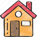 building, essentials, home, house, ui icon