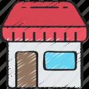 ecommerce, essentials, market, marketplace, shop icon