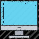 computer, desktop, essentials, imac, pc icon