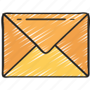 email, essentials, letter, mail, send icon