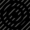 aim, bullseye, circles, goal, target icon