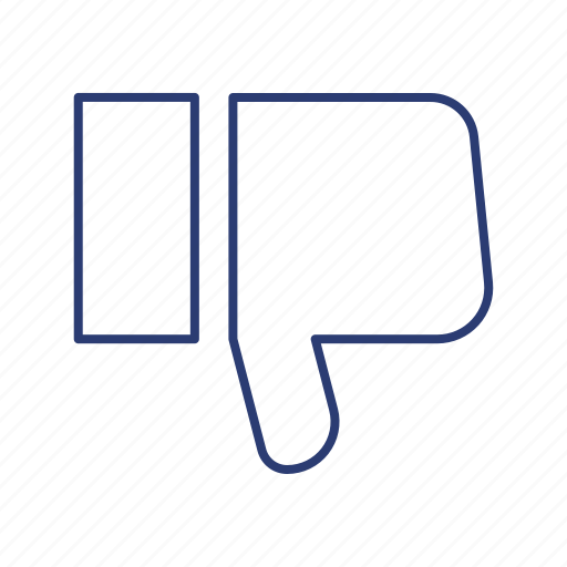 Dislike, down, thumb icon - Download on Iconfinder