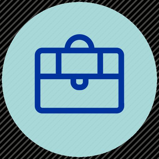 bag, baggage, brief, briefcase, case, essential, work icon