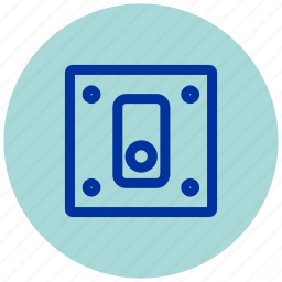dimmer, essential, key, off, on, on-off, switch icon