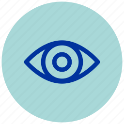 essential, eye, iu, see, seen, view, views icon