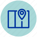 essential, google, iu, location, map, maps, place icon