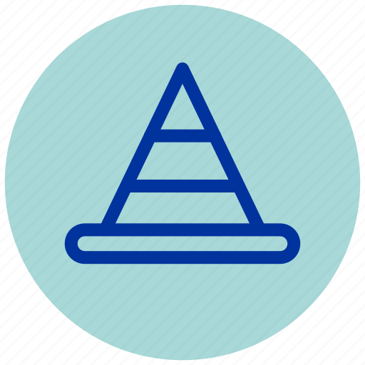 cone, construction, essential, iu, under, work, working icon