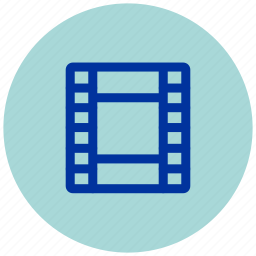 cine, cinema, essential, film, iu, music, reel icon