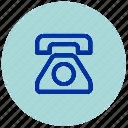 call, contact, essential, iu, mobile, phone, telephone icon