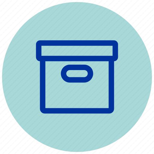 Archive, box, essential, iu icon - Download on Iconfinder