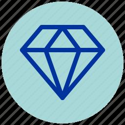 diamond, essential, iu, premium icon