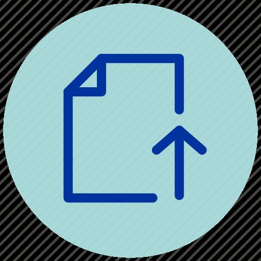 cloud, document, essential, internet, iu, upload, web icon