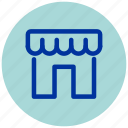 business, cream, essential, ice, iu, shop, web icon