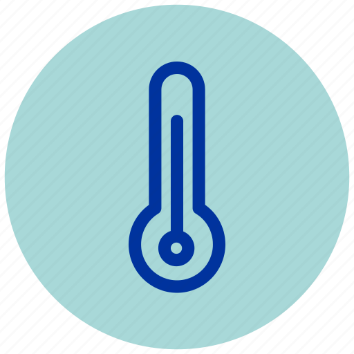 cold, essential, fever, hot, iu, temperature, thermometer icon