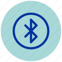 bluetooth, essential, iu, logo, sign, signage icon